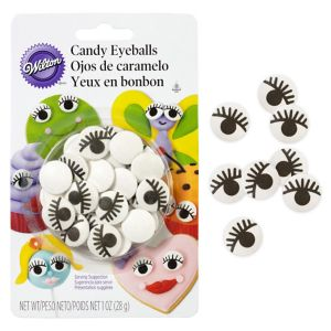Wilton Candy Eyes Icing Decorations 24ct