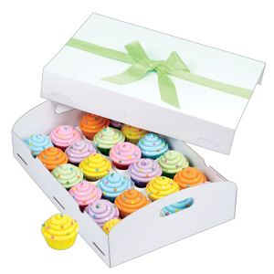 Wilton White Folding Tray Cupcake Box
