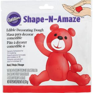 Red Edible Decorating Dough