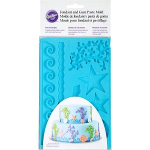Wilton Sea Life Fondant Mold