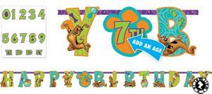 Scooby-Doo Birthday Banner