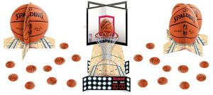Spalding Basketball Table Decorating Kit 23pc