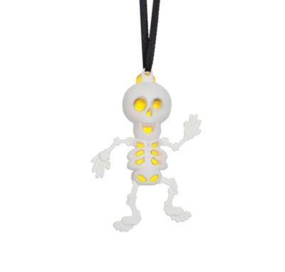 Glow Skeleton Pendant