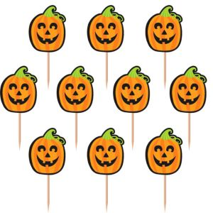 Cute Halloween Cupcake Picks 36ct