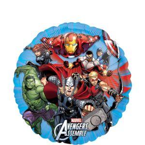 Avengers Balloon - Round Comic