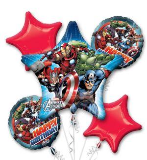 Avengers Balloon Bouquet 5pc