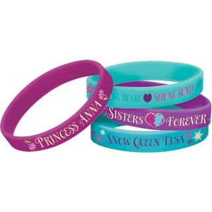 Frozen Wristbands 6ct