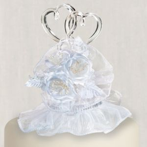 Simple Joys White Cake Topper 8in