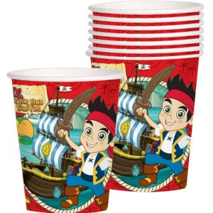 Jake and the Never Land Pirates Cups 8ct