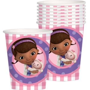 Doc McStuffins Cups 8ct