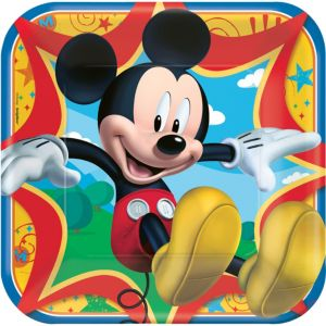 Mickey Mouse Lunch Plates 8ct