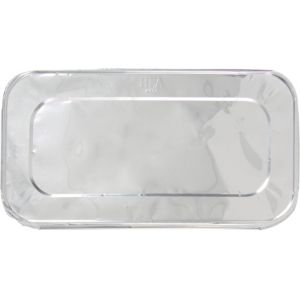Aluminum One Third Size Steam Pan Lid