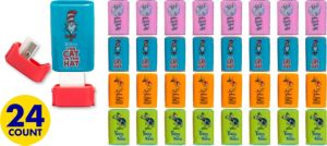 Dr. Seuss Pencil Sharpeners 24ct