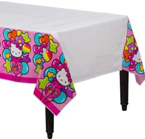 Rainbow Hello Kitty Table Cover