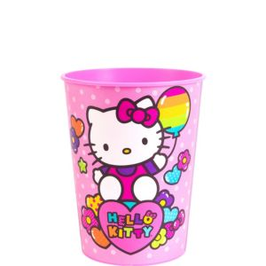 Rainbow Hello Kitty Favor Cup