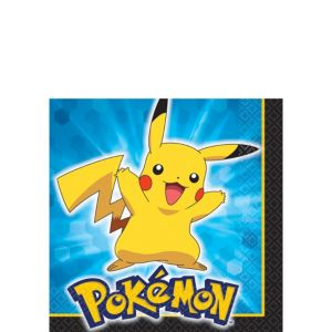 Pokemon Beverage Napkins 16ct
