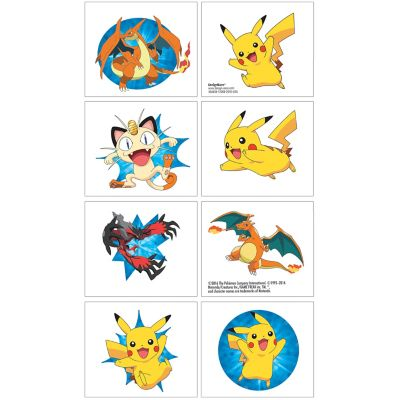Pokemon Tattoos 1 Sheet