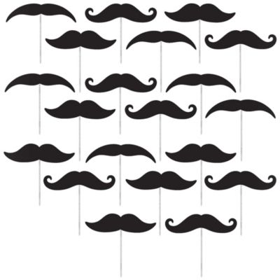 Moustache Picks 20ct