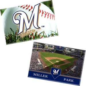 Milwaukee Brewers Magnets 2ct