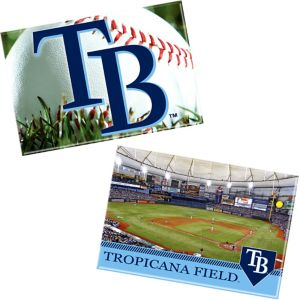 Tampa Bay Rays Magnets 2ct