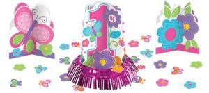 Sweet Girl 1st Birthday Table Decorating Kit 23pc