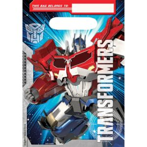 Transformers Favor Bags 8ct