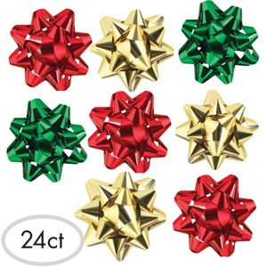 Traditional Holiday Bows 24ct
