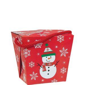 Snowman Favor Box