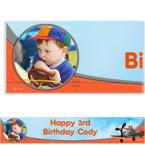 Custom Planes Photo Banner 6ft