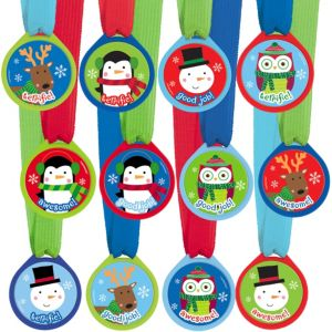 Winter Award Medals 12ct