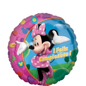 Feliz Cumpleanos Minnie Mouse Balloon