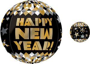 Happy New Year Balloon - Orbz