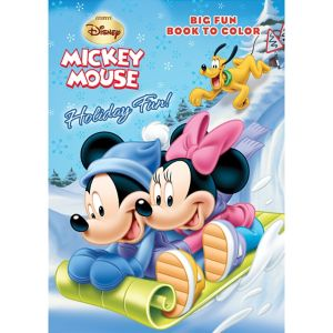 Mickey Mouse Christmas Coloring Book