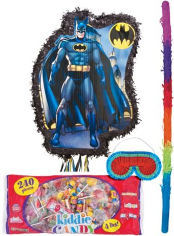 Pull String Comic Batman Pinata Kit
