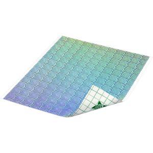 Prismatic Silver Swirls Duck Tape Sheet