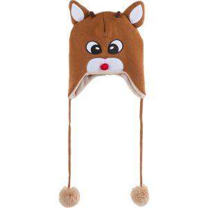 Light-Up Rudolph Laplander Hat