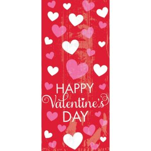 Large Bright Valentine's Day Treat Bags 20ct
