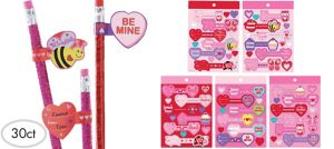 Valentine's Day Sticker Tags 30ct