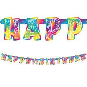 Lisa Frank Rainbow Horse Birthday Banner