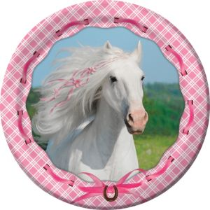 Heart My Horse Lunch Plates 8ct