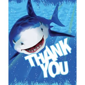Shark Thank You Notes 8ct