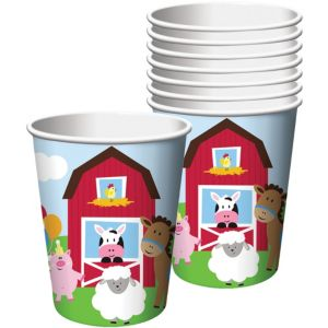 Farmhouse Fun Cups 8ct
