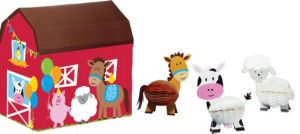 Farmhouse Fun Centerpiece Kit 4pc