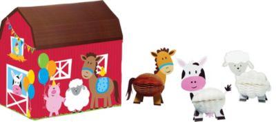 Farmhouse Fun Centerpiece Kit 4pc