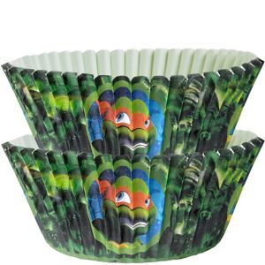 Wilton Teenage Mutant Ninja Turtles Baking Cups 50ct