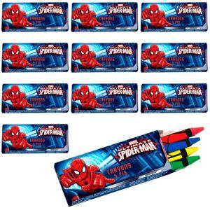 Spider-Man Crayons 48ct