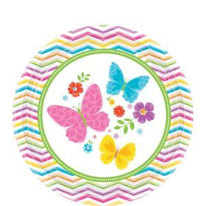 Celebrate Spring Dessert Plates 18ct