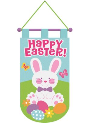 Happy Easter Door Banner