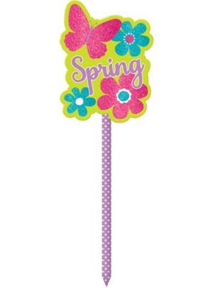 Glitter Spring Yard Stake