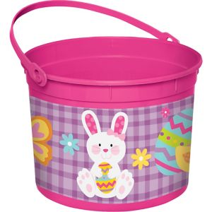 Pink Easter Bunny Bucket